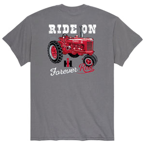 Ride On Farmall - Adult Short Sleeve Tee