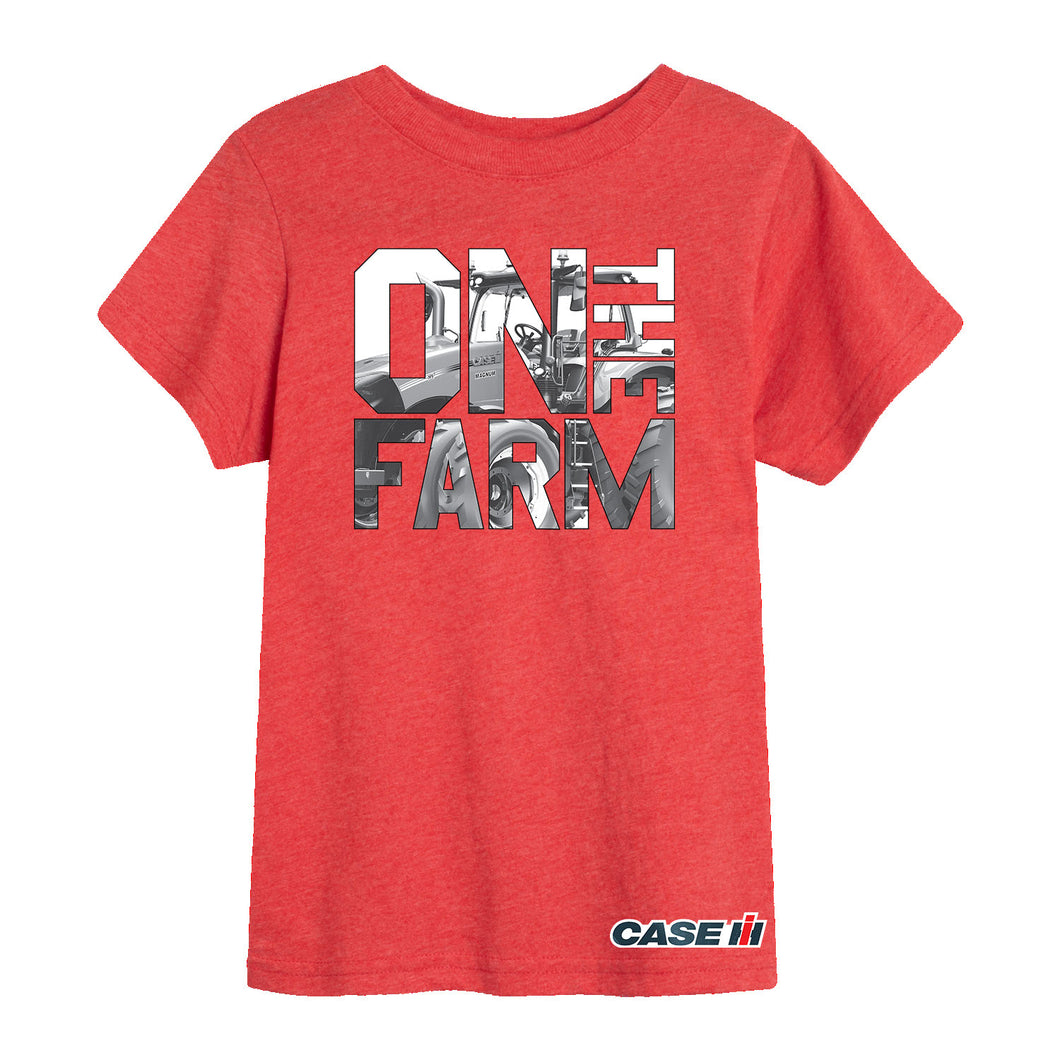 On The Farm Case IH Magnum - Youth Short Sleeve Tee
