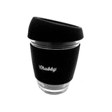 Chubby Reusable Glass Coffee Cup