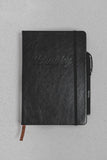 Leather A5 Notebook & Pen