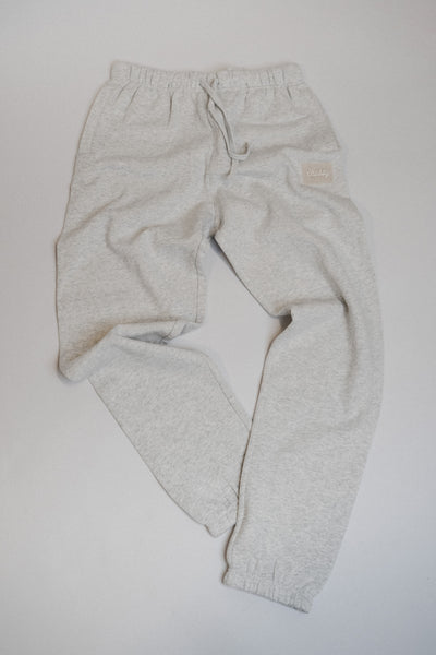White Heather Track Pants