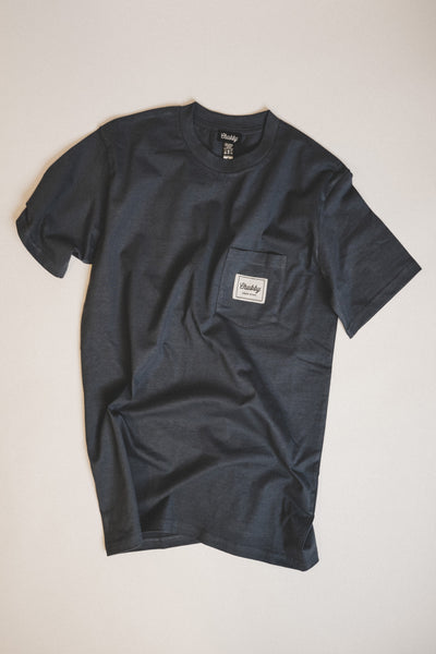 Petrol Blue Pocket T