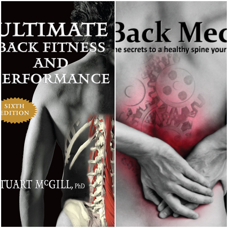Book Combo- Ultimate Back Fitness & Performance | Back Mechanic