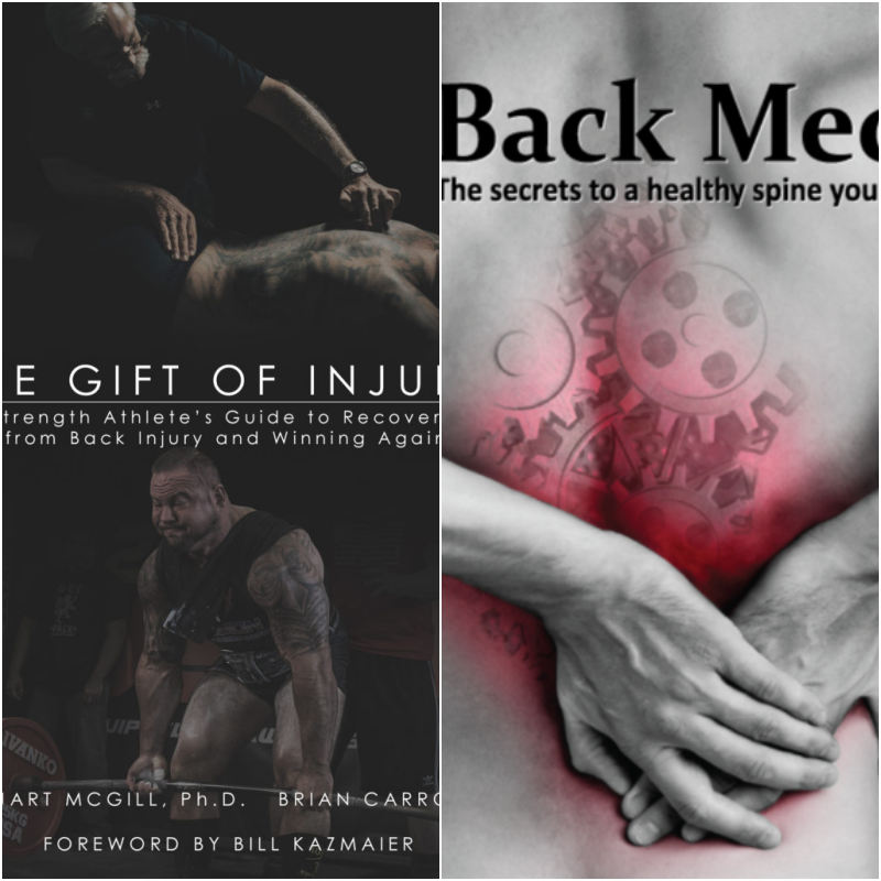 Book Combo- Gift Of Injury | Back Mechanic
