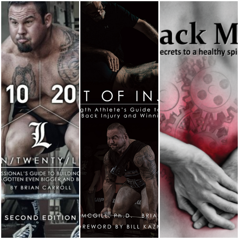 Book Combo- 10/20 LIFE | Back Mechanic | Gift Of Injury