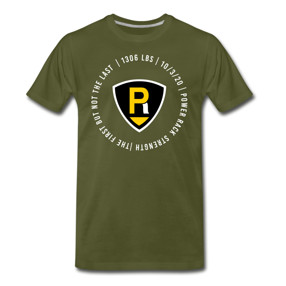 """The First"" Unisex Tee - olive green"