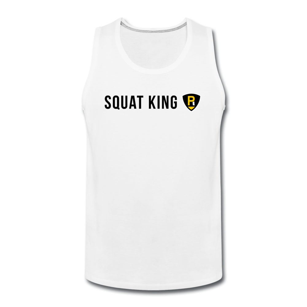 Squat King Men's Tank - white