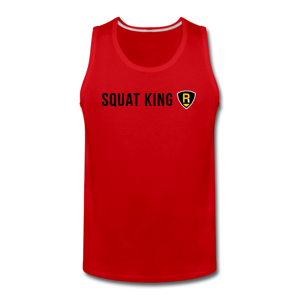 Squat King Men's Tank - red