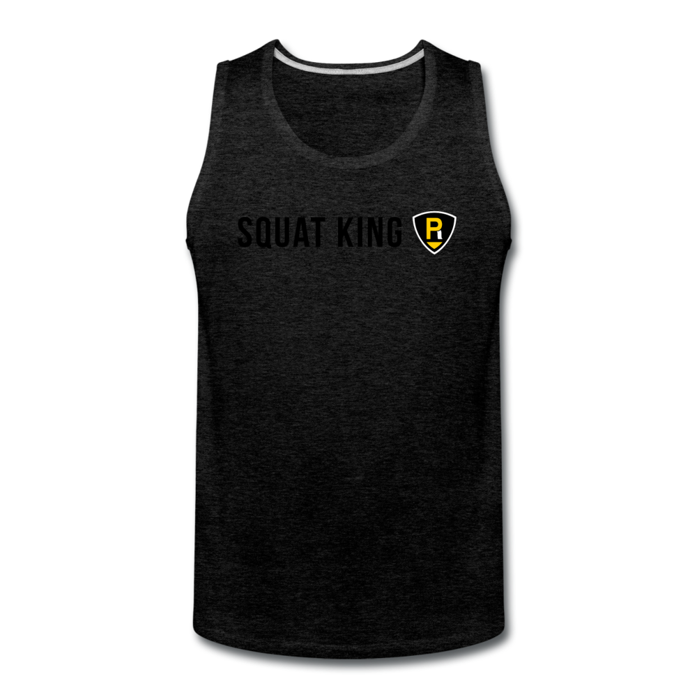 Squat King Men's Tank - charcoal gray