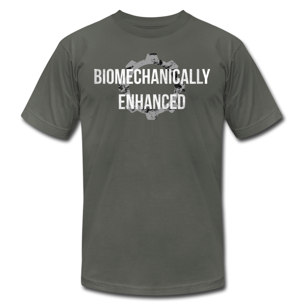 Biomechanically Enhanced Unisex Tee - asphalt