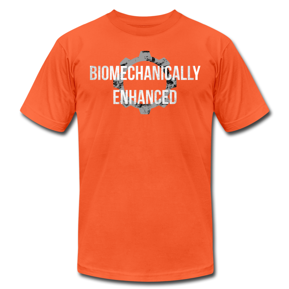 Biomechanically Enhanced Unisex Tee - orange