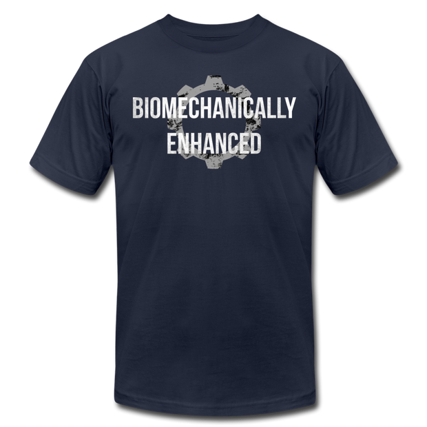 Biomechanically Enhanced Unisex Tee - navy