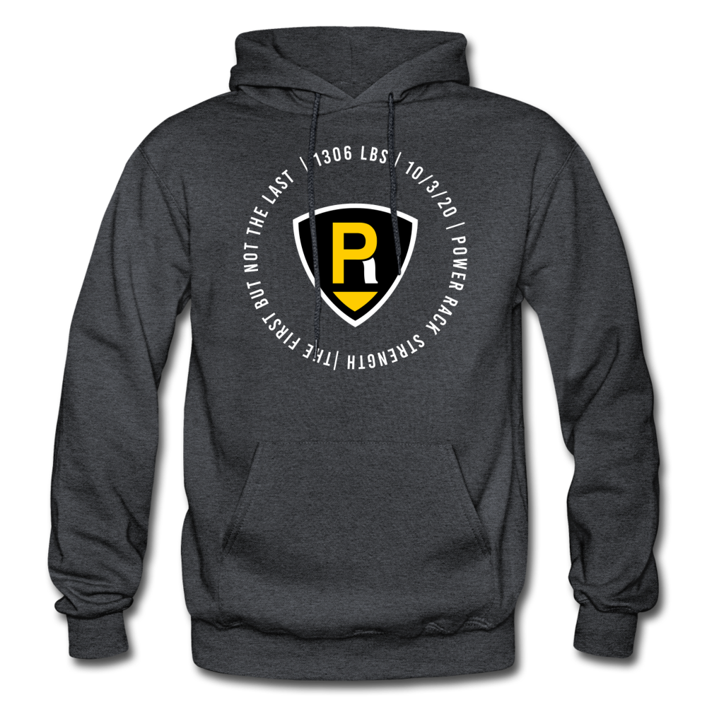 The First Unisex Hoodie - charcoal gray