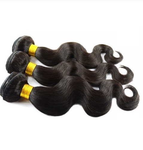 4 Bundle Deals Body Wave and Straight Hair Natural Color