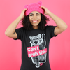 "Women's Black Vintage Blend ""Can't Grab This"" Tee"