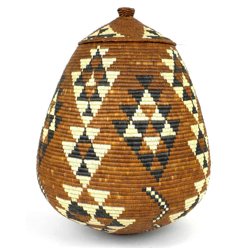 Zulu Wedding Basket -OS-13 - Ilala Weavers