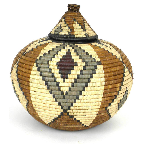 Zulu Wedding Basket -OS20 - Ilala Weavers