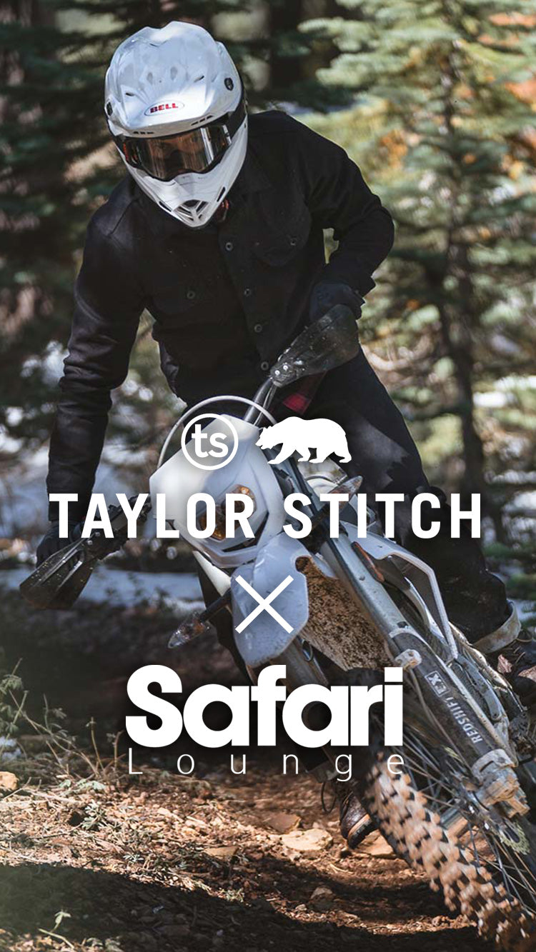 TAYLOR STITCH and Safari Lounge 特別企画
