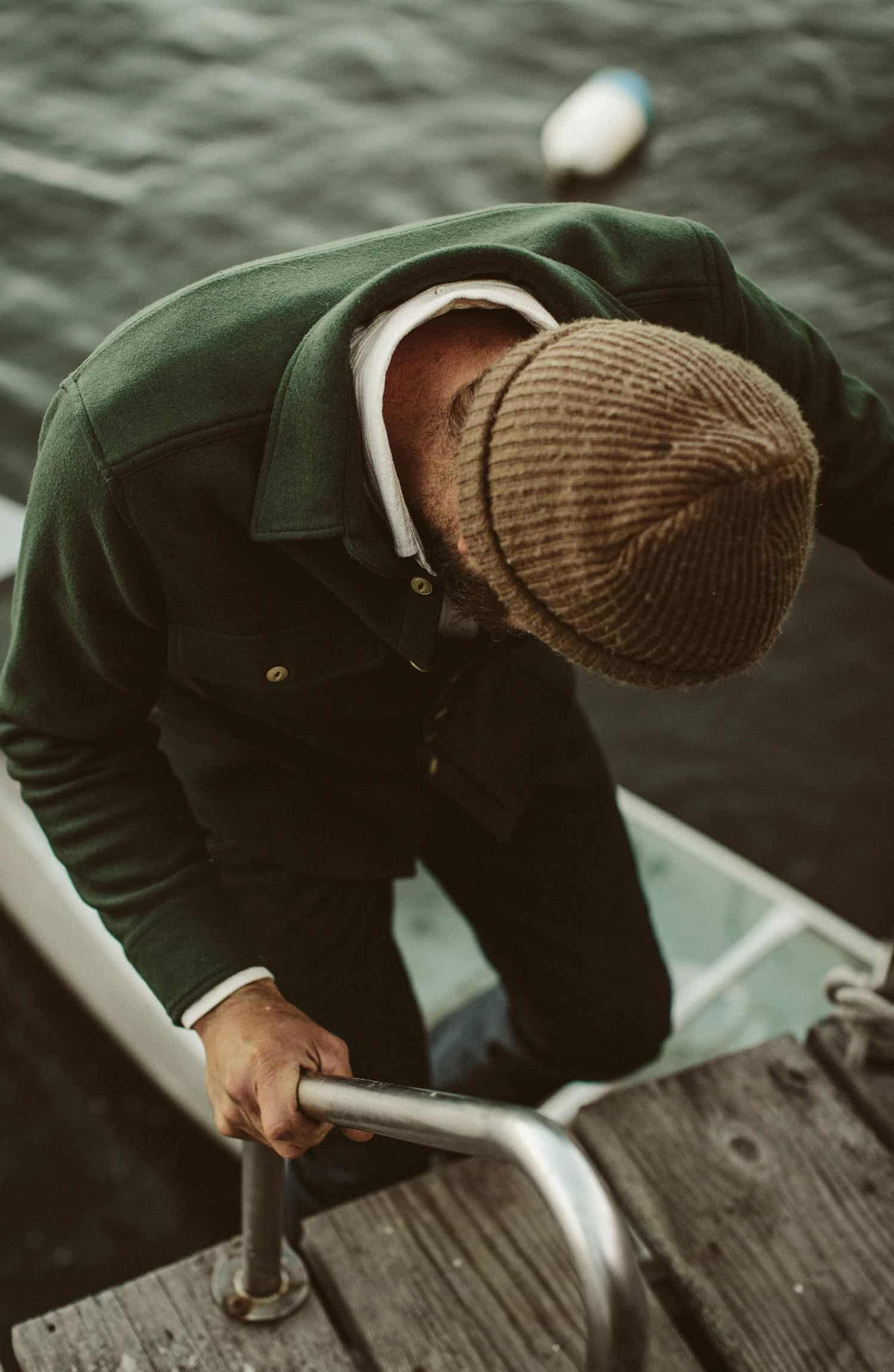 マリタイムシャツジャケット The Maritime Shirt Jacket in Olive Collection