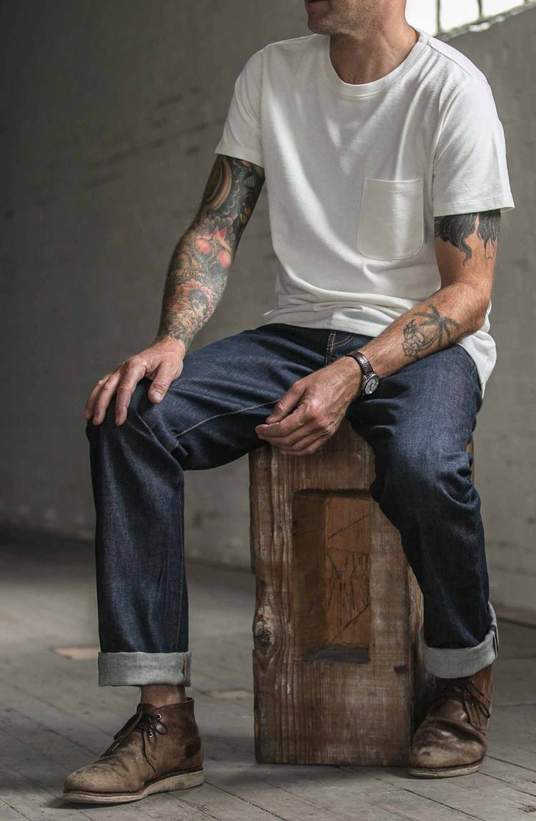 デモクラティックジーンズ The Democratic Jean in Cone Mills '68 Selvage Collection