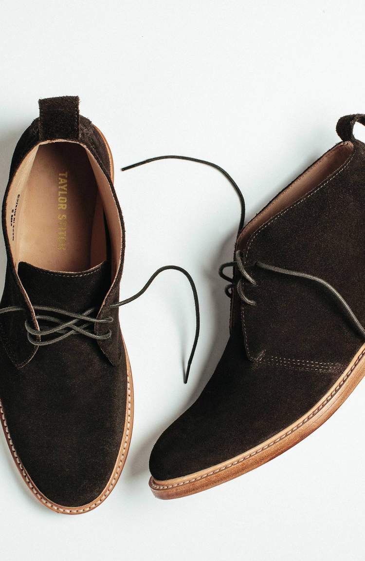 ウォータープルーフチャッカブーツ The Chukka in Waterproof Chocolate Suede Collection