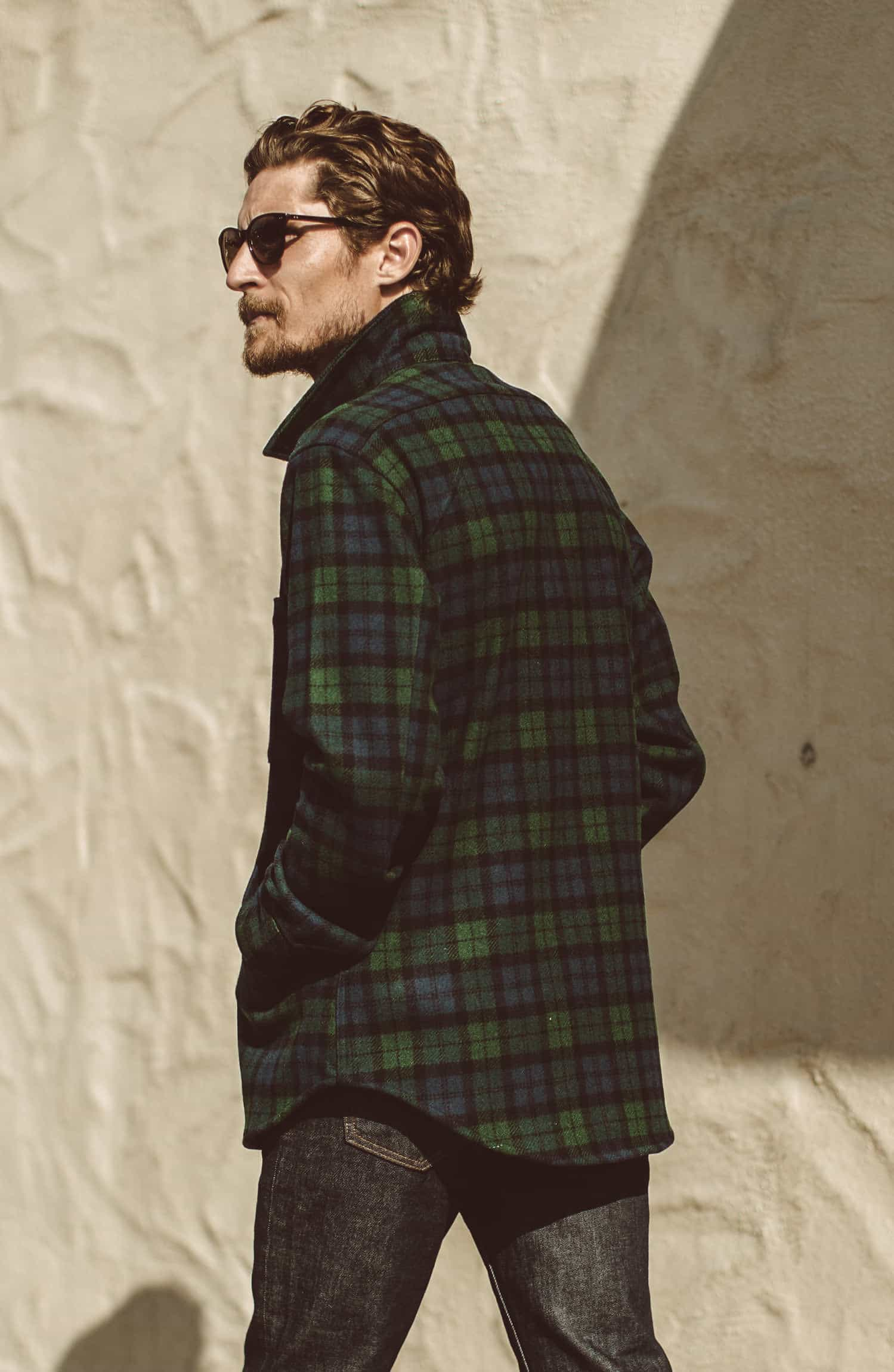 コイトジャケット The Coit Jacket in Blackwatch Wool Collection