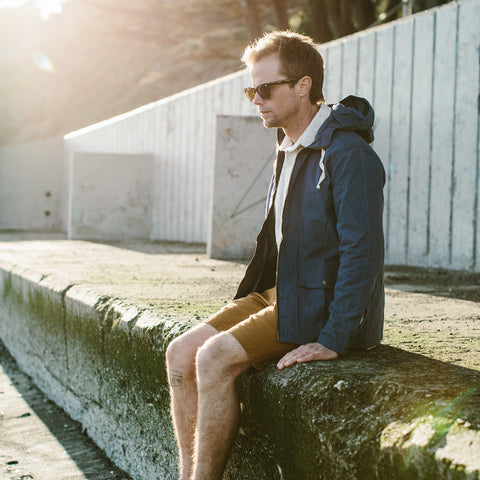 ビーチジャケット<br>The Beach Jacket in Indigo Chambray - featured image