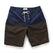 ショートパンツ<br>short pants in Navy Brown: Product Image