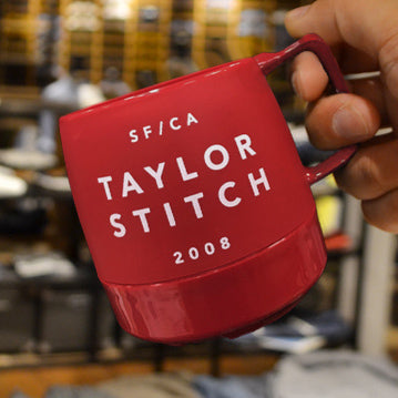 TAYLOR STITCH  Original Mugcup Red: Featured Product Image