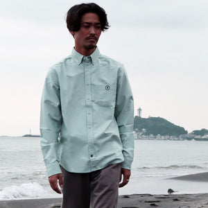 【RE STITCH】<br>ジャック<br>The RE STITCH Jack in Seafoam Everyday Oxford