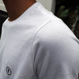 【RE STITCH】<br>トリブレンドT<br>The RE STITCH Triblend Tee in White