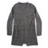 フリーダカーディガン<br>The Frida Cardigan in Charcoal: Product Image