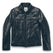 モトジャケット<br>The Moto Jacket in Black Steerhide: Product Image