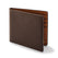 ミニマリストビルフォード<br>The Minimalist Billfold in Brown: Product Image