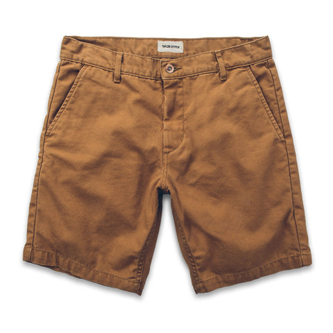 The Camp Short in Washed Camel - alternate view