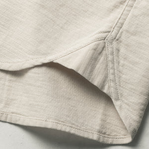 コルソシャツ<br>The Corso in Natural Double Cloth