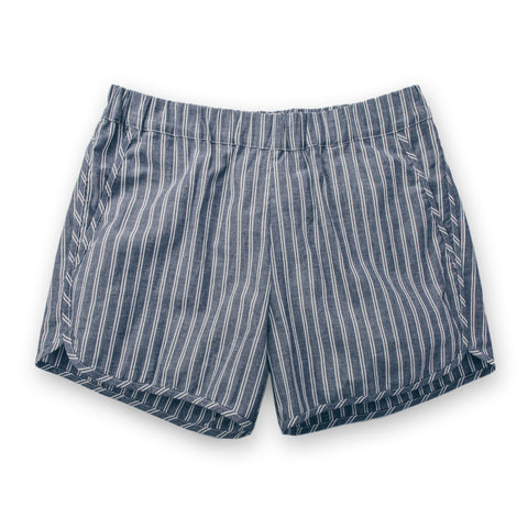 サーフショートパンツ<br>The Surf Short in Indigo - alternate view