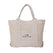 トートバック<br>Canvas Tote Bag in Grey: Product Image