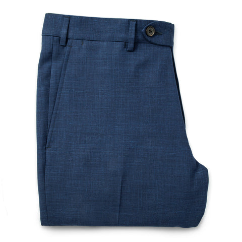 テレグラフトラウザー<br>The Telegraph Trouser in Cobalt - alternate view