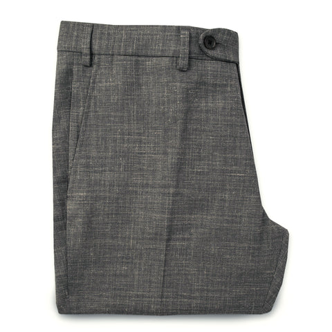 テレグラフトラウザー<br>The Telegraph Trouser in Charcoal - alternate view