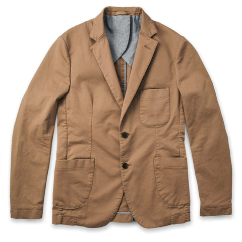 テレグラフジャケット<br>The Telegraph Jacket in Sea Washed Khaki - alternate view
