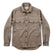 マリタイムシャツジャケット<br>The Maritime Shirt Jacket in Natural: Product Image