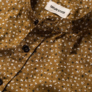 ショートスリーブバンディット<br>The Short Sleeve Bandit in Fatigue Brown Floral