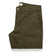スリムチノ<br>The Slim Chino in Organic Olive: Product Image