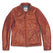 モトジャケット<br>The Moto Jacket in Whiskey Steerhide: Product Image