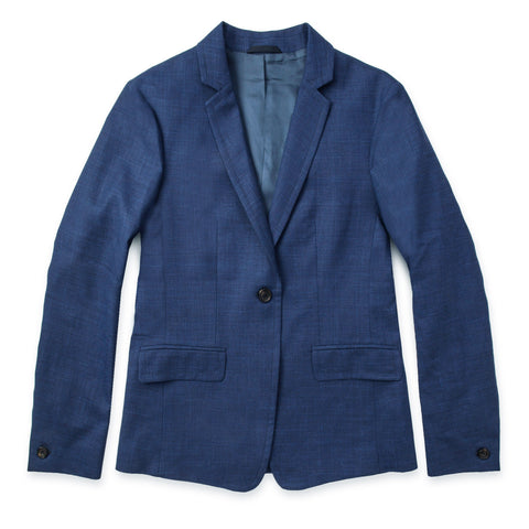 テレグラフブレザー<br>The Telegraph Blazer in Cobalt - alternate view