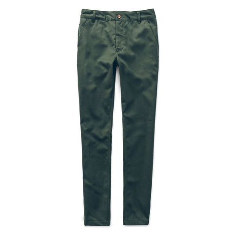 シビックチノ<br>The Civic Chino in Olive Merino 4S - alternate view