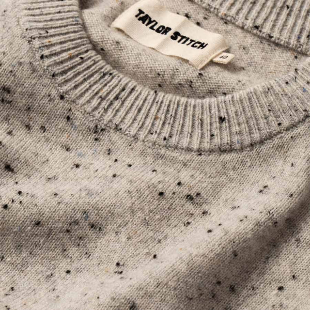 ハードタックセーター<br>The Hardtack Sweater in Polar Baby Yak Donegal