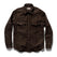 エクスプローラーシャツ<br>The Explorer Shirt in Chocolate: Product Image