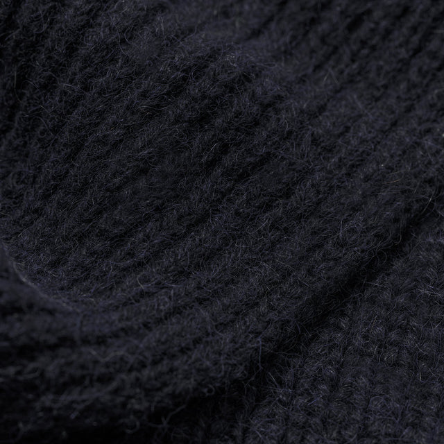 スカーフ<br>The Scarf in Navy Alpaca